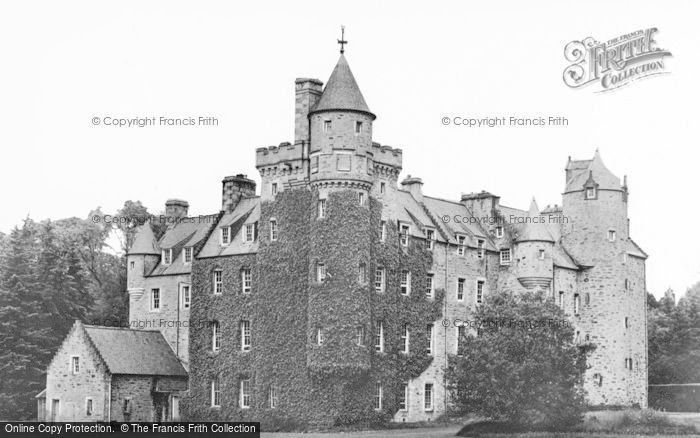 Photo of Aberfeldy, Grandtully Castle c.1935