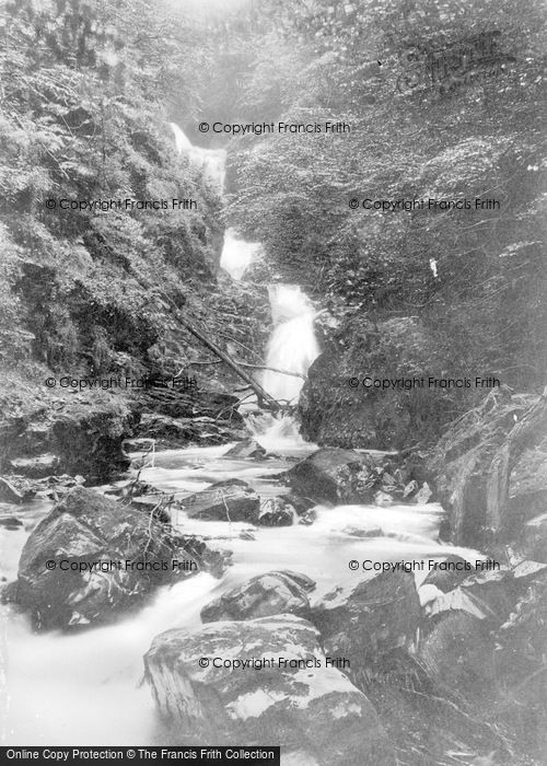 Photo of Aberfeldy, Middle Falls Of Moness c.1935