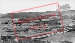 View From Weem Rock c.1935, Aberfeldy