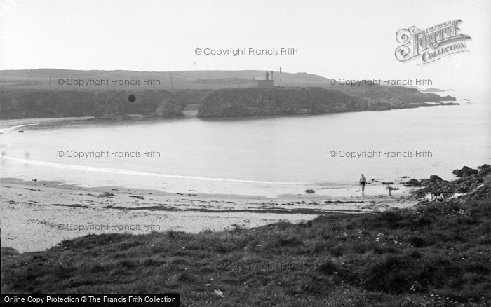 Photo of Aberffraw, Cable Bay c.1950