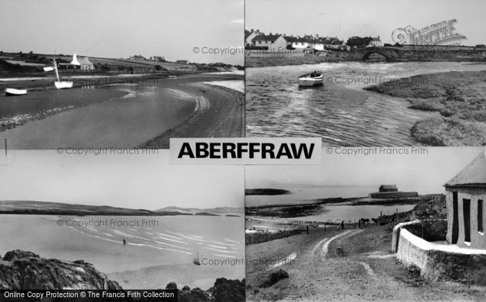 Photo of Aberffraw, Composite c.1965