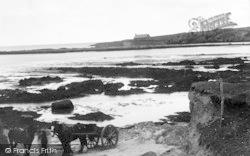 Porthcwyfan Beach And Church c.1939, Aberffraw