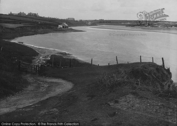 Photo of Aberffraw, River Ffraw c.1939