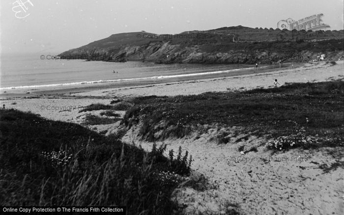 Photo of Aberffraw, The Beach, Cable Bay c.1939