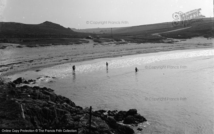 Photo of Aberffraw, The Beach, Cable Bay c.1950