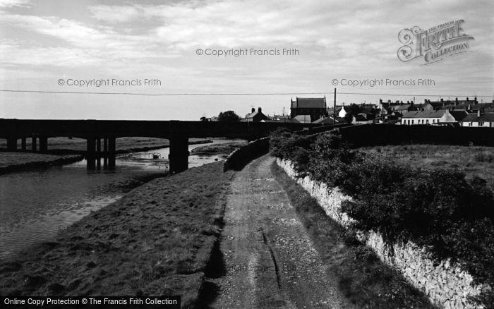 Photo of Aberffraw, The Bridge 1965