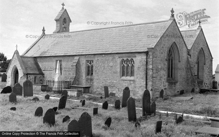 Photo of Aberffraw, The Church 1959