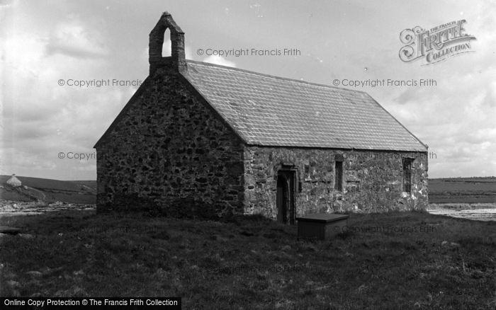 Photo of Aberffraw, The Church At Porthcwyfan Beach c.1939