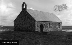 The Church At Porthcwyfan Beach c.1939, Aberffraw