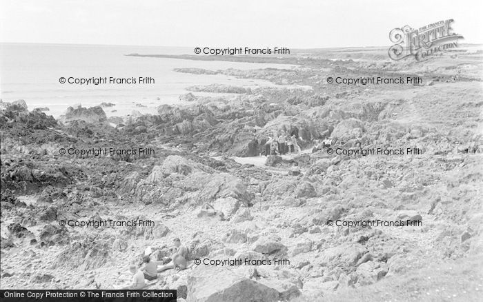 Photo of Aberffraw, The Coastline 1959