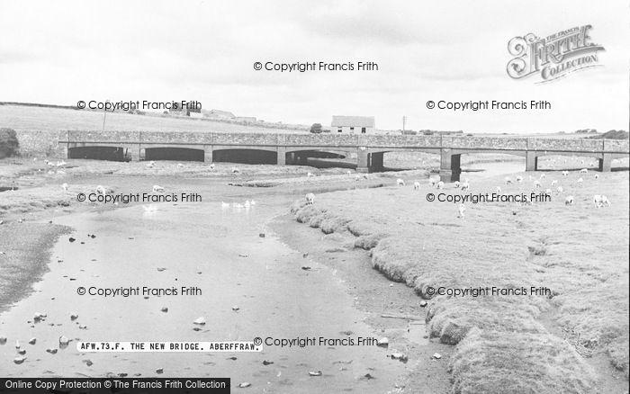 Photo of Aberffraw, The New Bridge 1959