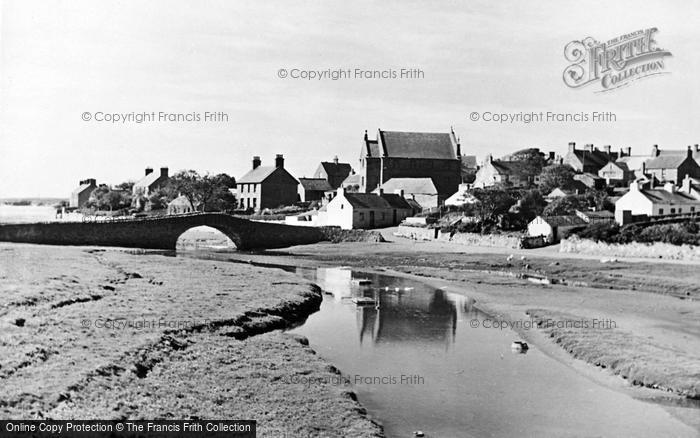 Photo of Aberffraw, The Old Bridge c.1950