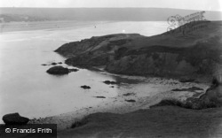 Aberffraw, The Point And Bay c.1950
