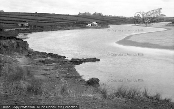 Photo of Aberffraw, The River c.1939