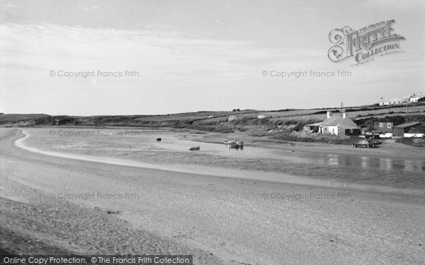 Photo of Aberffraw, The River c.1965
