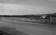 Aberffraw, The River c.1965
