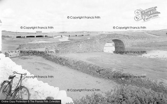 Photo of Aberffraw, The Two Bridges c.1939
