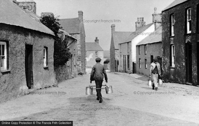 Photo of Aberffraw, The Village c.1900