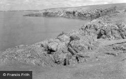 View From Headland c.1939, Aberffraw