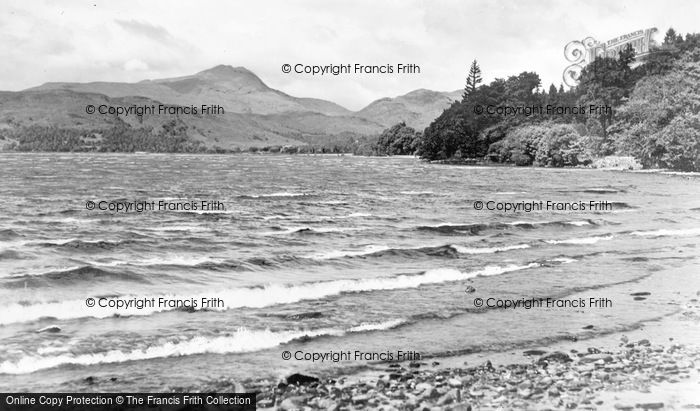 Photo of Aberfoyle, Loch Ard And Ben Lomond c.1939