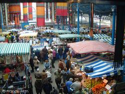 A Tuesday Market In The Market Hall 2005, Abergavenny
