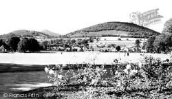 Bailey Park c.1960, Abergavenny