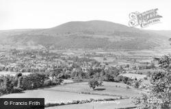 Abergavenny, Blorenge From Deri c.1950