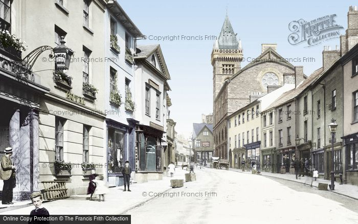 Photo of Abergavenny, Cross Street 1893