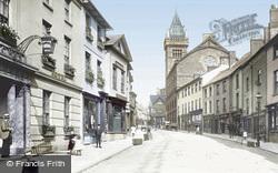 Abergavenny, Cross Street 1893