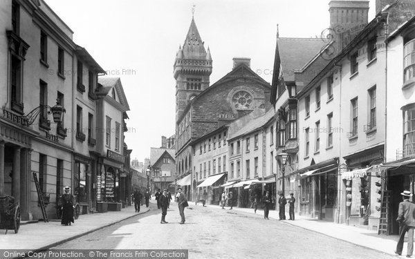 Photo of Abergavenny, Cross Street 1898