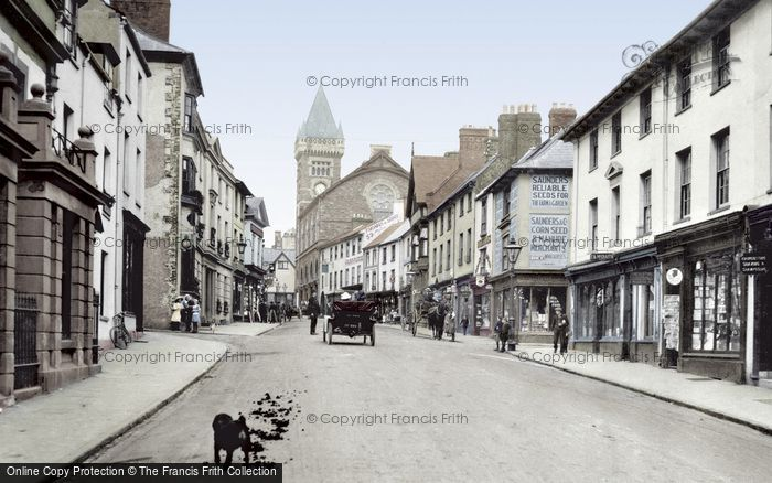 Photo of Abergavenny, Cross Street 1914