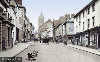 Abergavenny, Cross Street 1914