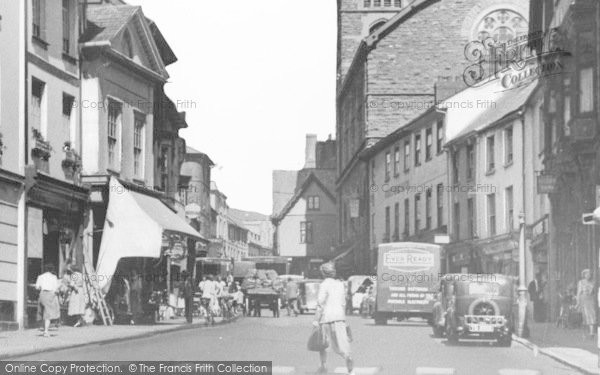 Photo of Abergavenny, Cross Street c.1950