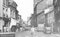Abergavenny, Cross Street c.1950