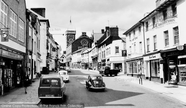 Photo of Abergavenny, Cross Street c.1965