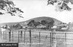 Abergavenny, Deri Mountain c.1955