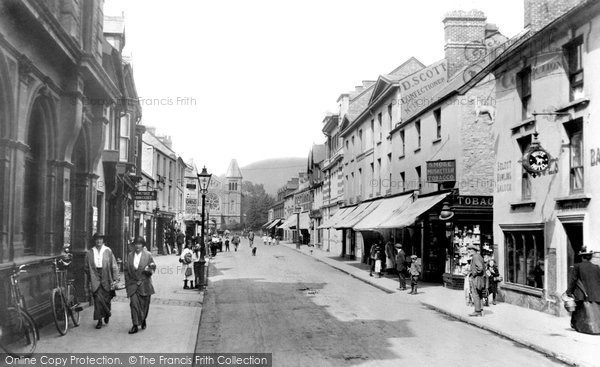 Photo of Abergavenny, Frogmore Street 1914