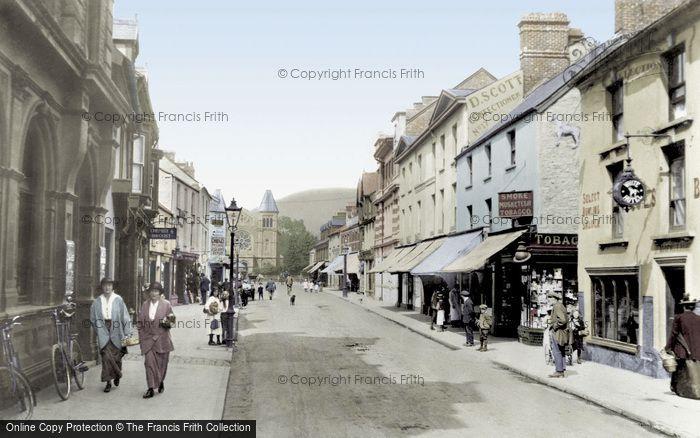 Photo of Abergavenny, Frogmore Street 1914