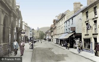 Abergavenny, Frogmore Street 1914