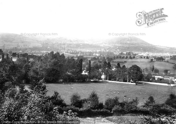 Photo of Abergavenny, From Canal 1893