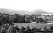 Abergavenny, From Canal 1893