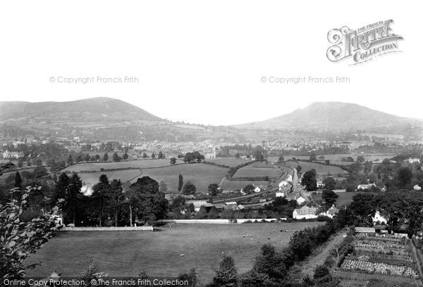 Photo of Abergavenny, From The Canal 1893