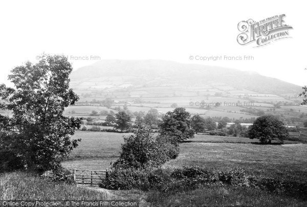 Photo of Abergavenny, Holy Mountain 1898