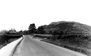 Abergavenny, Holy Mountain From The Main Road c.1955