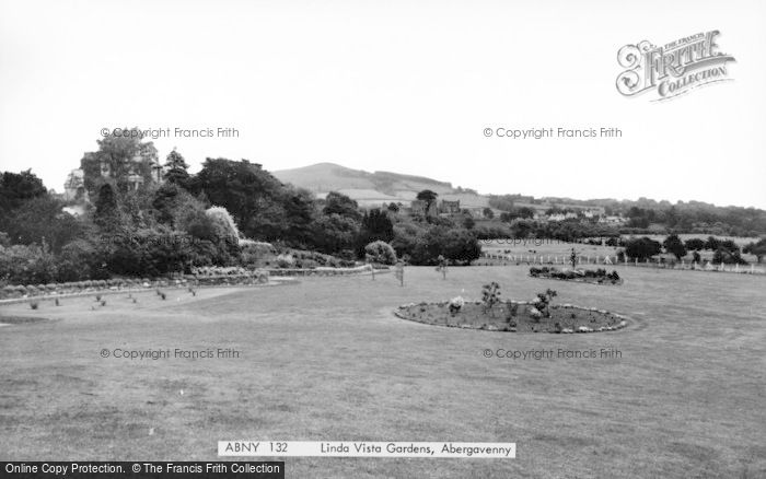 Photo of Abergavenny, Linda Vista Gardens c.1965