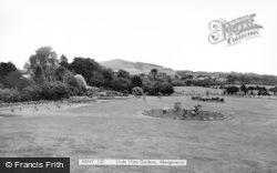 Abergavenny, Linda Vista Gardens c.1965