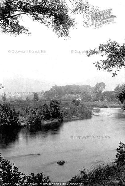Photo of Abergavenny, River Usk 1898