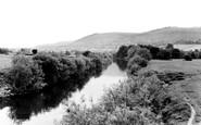 Abergavenny, River Usk c.1965