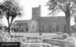 Abergavenny, St Mary's Church c.1960