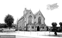 Abergavenny, St Mary's Church c.1960